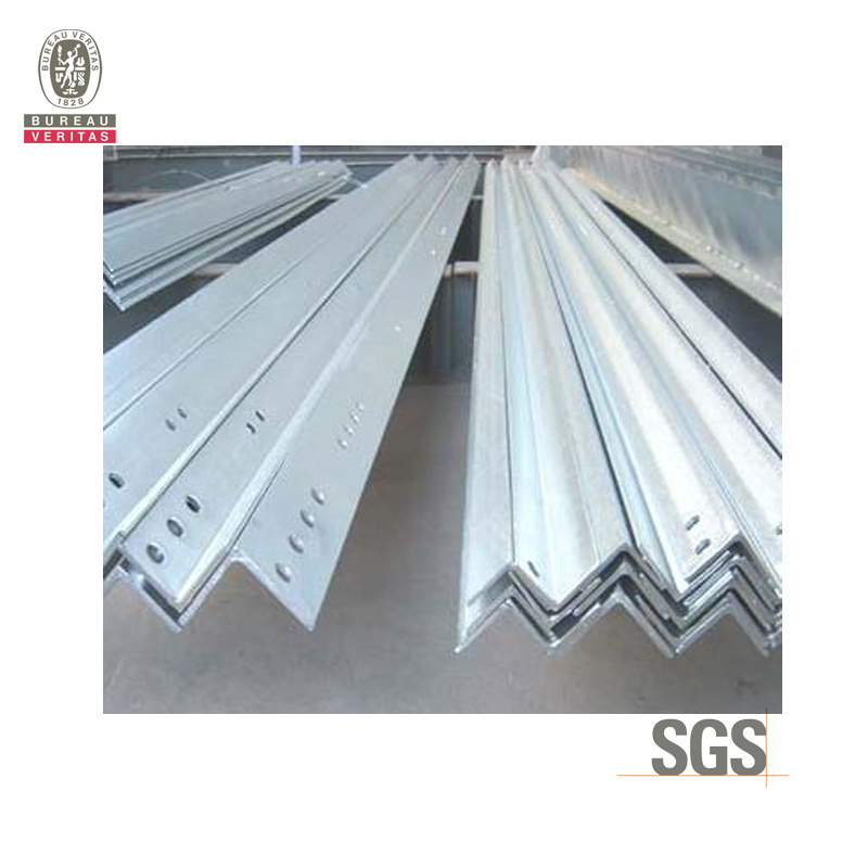 Galvanized steel Angle bar with holes Manufacturer