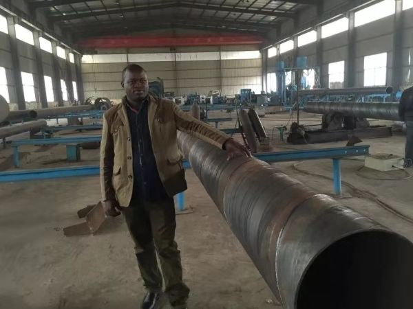steel pipeline for water projects