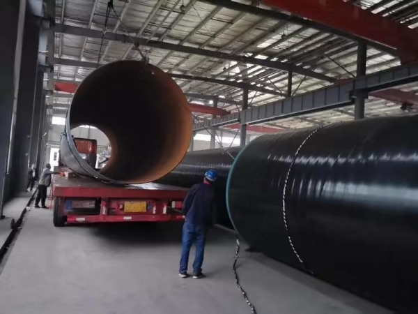 API 5L steel tube/pipe with 3PE coating