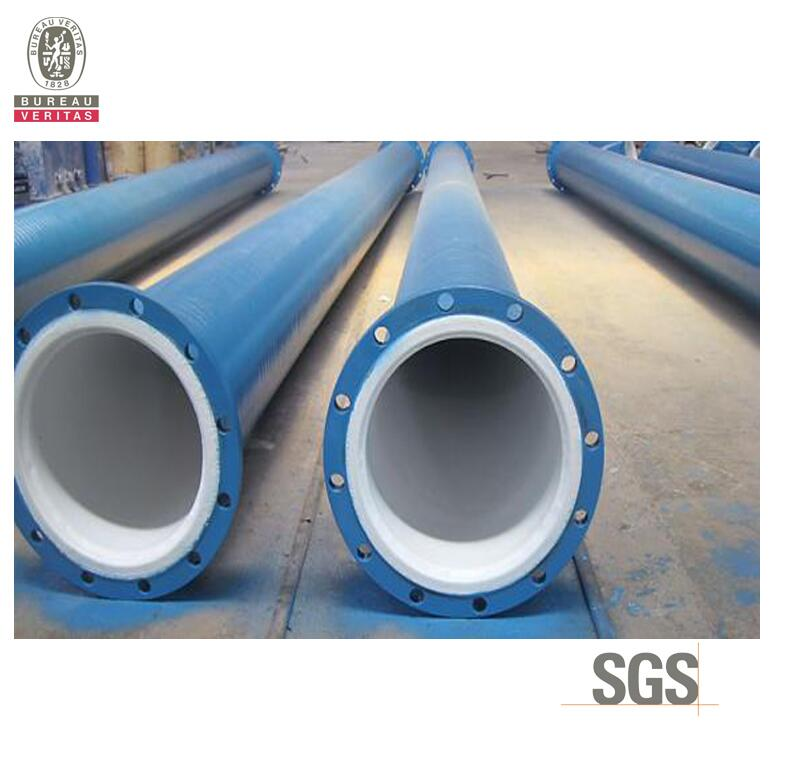 ASTM A53 carbon steel tube with flange